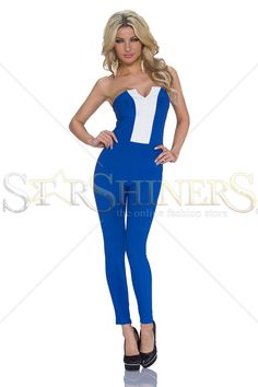 Smart Option DarkBlue Jumpsuit
