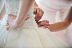 An Intimate Blush Pink Vintage Chic Wedding