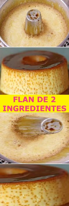 Easy Desserts, Delicious Desserts, Yummy Food, Bakery Recipes, Cooking Recipes, Mexican Food Recipes, Sweet Recipes, Lemond Curd, Flan Recipe
