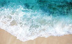 прилив, море, песок, пена 1920x1200