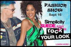 """ROCK'n it in #2182.  SUEDEsays™ first national """"Rock Your Look"""" Competition."""