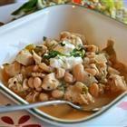 Cha Cha's White Chicken Chili... Best white chili recipe ever... To make it creamier I puree half the beans.