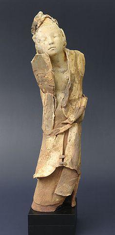 ☥ Figurative Ceramic Sculpture ☥  Marika Bäumler