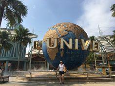 De universal studio's vindt je in Singapore op Sentosa Island #singapore #Sentosaisland