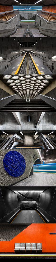Montreal Underground shot by Chris Forsyth