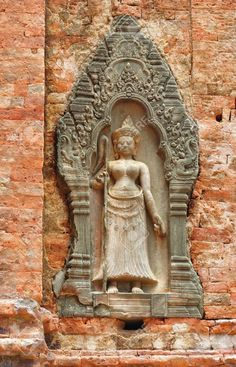 -In-Cambodia-in-the-ancient-city-of-Roluos-the-Hindu-temple-of-Lolei-was-built-in-the-9th-century