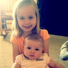 Big sister and little sister <3