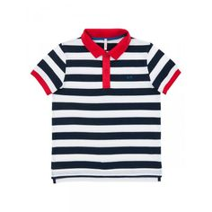 Black-white striped polo #SUN68 #SS16 #kids #polo