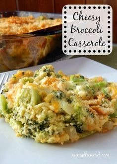 If you love Broccoli and Cheese, then this side dish is perfect for you. Cheesy Broccoli Casserole is one of our FAVORITE side dishes. I have made this more times than I can count and it ALWAYS turns out fantastic! A perfect Thanksgiving Side Dish! Yummy Recipes, Side Dish Recipes, Vegetable Recipes, Cooking Recipes, Yummy Food, Healthy Recipes, Recipies, Keto Recipes, Cooking Time