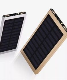 Solar Power Bank Portable Ultra-thin Polymer Powerbank battery power-bank With LED Light for Xiaomi iphone Mobile Phone Solar Phone Chargers, Portable Phone Charger, Iphone Mobile Phone, Iphone 6, Solar Panel Charger, Portable Solar Panels, Solar Power, Solar Energy, 3d Printing