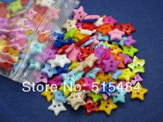 Cheap button 1, Buy Quality button back directly from China button start Suppliers:  300 Pcs Mixed Resin Star 2 Hloes Sewing Buttons Scrapbooking 12mm Knopf BoutonProducts Details Material:Resin&nbs