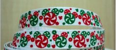3/8 Inch Christmas Minnie / Mickey Mouse Grosgrain Ribbon/ Disney Ribbon for hair bow supplies, scrapbooking, craft by EmbellishMyWorld on Etsy https://www.etsy.com/listing/196929189/38-inch-christmas-minnie-mickey-mouse