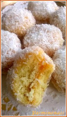 Boules coco (ou gâteaux Richbond) ultra moelleuses - A l'orée des douceurs
