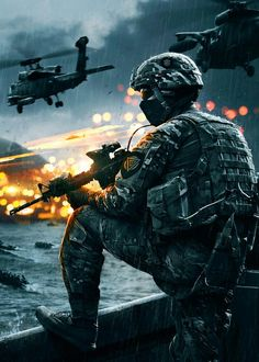 Battlefield 4. Can't wait for it on Xbox One.
