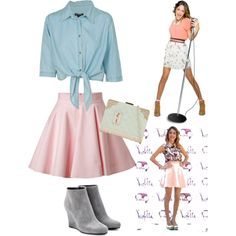 1000 Images About Martina Mode On Pinterest Martina Stoessel Pink Jeans And Pink Blue