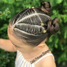 Hair ideas for girls hairdos 49 Best Ideas Girls Hairdos, Lil Girl Hairstyles, Princess Hairstyles, Girls Braids, Trendy Hairstyles, Braided Hairstyles, Curly Hair Styles, Natural Hair Styles, Toddler Hair