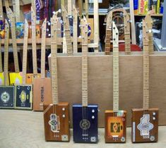 i have to stop in jackson at the mississippi musicians hall of fame and pick up a delta blues cigar box guitar for my collection...