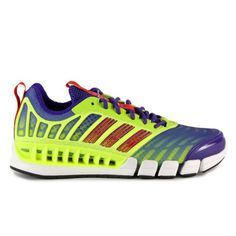 20c66dc0db1 Adidas Clima ReVent Yellow Purple Ladies Running Shoes