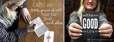 Send a card just because! | thinkmakeshareblog