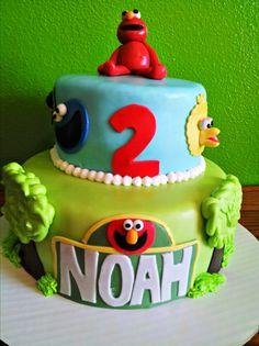 Sesame Street DIY Cake Decorations