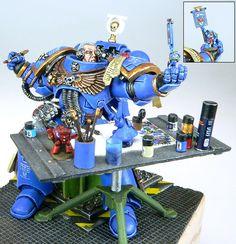 Warhammer 40k - Miniature Painting Miniature