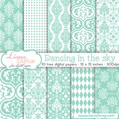 BLOG REPLETO DE KITS DIGITAIS DE PAPEIS SHABBY CHIC