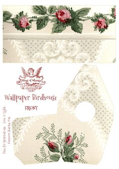Wings of Whimsy: Wallpaper Birdhouse No 30