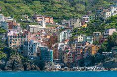 Rugged Cinque Terre, Italy