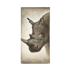 Toile rhinocéros Baka