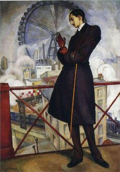 Diego Rivera, Portrait of the Adolfo Best Maugard, 1913