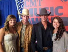J.B. Mauney and Sean Willingham representing the PBR at the #CMTawards
