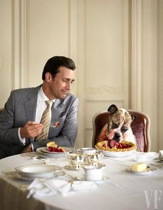 vanityfair:  Happy National Dog Day! Photograph by Sam Jones.