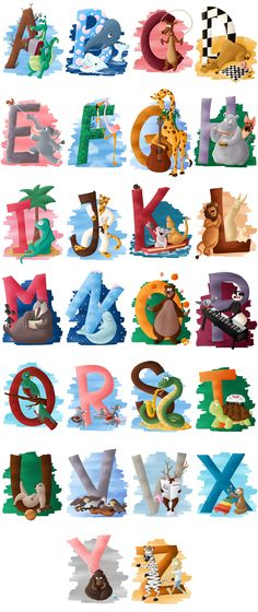 Design Alphabet, Alphabet Art, Alphabet Activities, Alphabet And Numbers, Preschool Activities, Christmas Alphabet, Typography Poster, Cool Fonts, Pre School