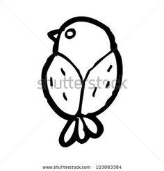 stock-vector-cartoon-little-garden-bird-103883384.jpg (450×470)