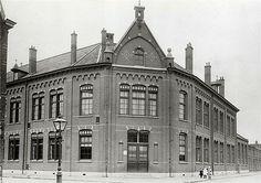 Vogelenbuurt   Koekoeksplein 1912   Openbare Lagere School. L. de Havikstraat, R. de Valkstraat