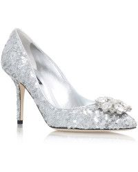 Dolce & Gabbana | Bellucci Sequin Pumps 90 |  Lyst