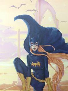 Batgirl by Conny Valentina