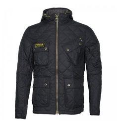 Barbour international paxton jacket black