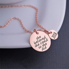 Available in rose gold, yellow gold, and silver. God Gave Me You Necklace, Personalized Mother's Day Jewelry Gifts – georgie designs personalized jewelry Personalized Gold Necklace, Personalized Charms, Godmother Gifts, Diamond Cross Necklaces, Rose Gold Jewelry, Silver Jewellery, Diamond Jewelry, Gifts For Wife, Graduation Gifts