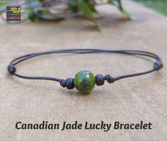 Simple mens or womens jade bracelet. Enhance your luck with natural jade. Simple Bracelets, Bracelets For Men, Canadian Gifts, Burlap Gift Bags, Essential Oil Jewelry, Aromatherapy Jewelry, Jade Bracelet, Bead Shop, Heart For Kids