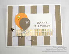 Alternative ideas for Banner Surprise Paper Pumpkin Kit for June 2016 from Dawn Olchefske #dostamping #stampinup