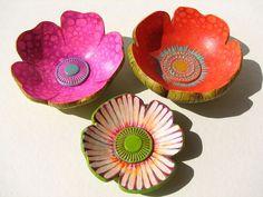 check out this flikr stream - Platitos decorativos de arcilla polimérica by fperezajates, via Flickr