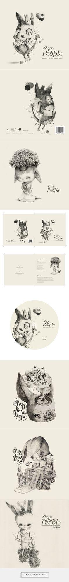 SLEEP PARTY PEOPLE'S NEW ALBUM COVER on Behance - https://www.behance.net/gallery/3421281/SLEEP-PARTY-PEOPLES-NEW-ALBUM-COVER