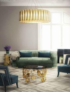 10 Interior Design Tips To Get The Greenery Summer Look / color trends, interior design, interior design tips #colortrends #interiordesign #livingroomdesign Read article: https://brabbu.com/blog/2017/05/10-interior-design-tips-get-greenery-summer-look/ #AwesomeInteriorDesignTips