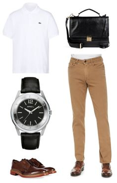 Outfit of the Day http://modmanapp.tumblr.com/post/87705707496/outfit-of-the-day-items-lacoste-cotton-short