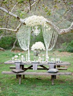 свадьба на природе/в саду