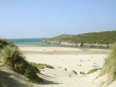 The amazing Crantock beach in Cornwall with the sand dunes and estuary - great place. Great Places, Places To See, Beautiful Places, Crantock Beach, Cornish Beaches, British Beaches, Cornwall Beaches, Devon And Cornwall, Newquay Cornwall