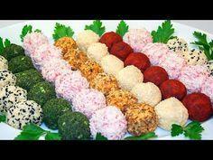 Праздничная закуска «Сырные шарики» 5 вкусных рецептов! (1 ЧАСТЬ) | Коллекция Рецептов