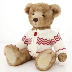 Freddie 2011 Harrods Christmas Bear- My children have Harrods bears!!