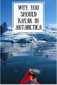 Why you should kayak in Antarctica